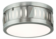 Livex 65506-91 Vista Brushed Nickel ADA 10  Flush Mount Lighting