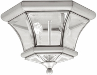 Livex 7052-91 Monterey/Georgetown Brushed Nickel Outdoor Ceiling Lighting