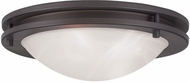Livex 7057-07 Ariel Bronze 11  Ceiling Light
