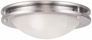 Livex 7057-91 Ariel Brushed Nickel 11  Ceiling Light Fixture