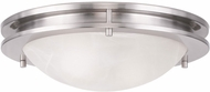 Livex 7058-91 Ariel Brushed Nickel 13  Ceiling Light Fixture