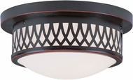 Livex 7351-67 Westfield Olde Bronze 11  Overhead Lighting