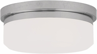 Livex 7390-05 Stratus Polished Chrome 8  Overhead Light Fixture