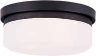 Livex 7390-07 Stratus Bronze 8  Overhead Lighting Fixture