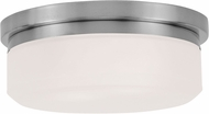 Livex 7390-91 Stratus Brushed Nickel 8  Ceiling Lighting