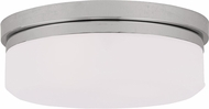 Livex 7392-05 Stratus Polished Chrome 13  Ceiling Light Fixture