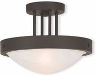Livex 73955-07 New Brighton Bronze 12.25  Ceiling Light
