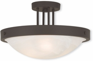 Livex 73956-07 New Brighton Bronze 16.5  Ceiling Lighting Fixture