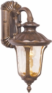 Livex 7651-50 Oxford Traditional Moroccan Gold Exterior 7.25 Wall Light Sconce