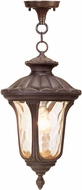 Livex 7654-58 Oxford Traditional Imperial Bronze Pendant Lighting Fixture