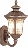 Livex 7656-50 Oxford Traditional Moroccan Gold Exterior 11 Wall Sconce Light