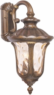 Livex 7657-50 Oxford Traditional Moroccan Gold Outdoor 11 Wall Sconce