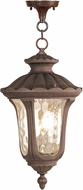 Livex 7658-58 Oxford Traditional Imperial Bronze Hanging Pendant Lighting