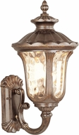Livex 7662-50 Oxford Traditional Moroccan Gold Exterior 13.75 Wall Lamp