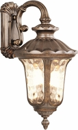 Livex 7663-50 Oxford Traditional Moroccan Gold Outdoor 13.75 Wall Lighting