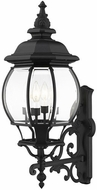Livex 7701-14 Frontenac Traditional Textured Black Exterior 29 Lamp Sconce
