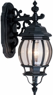 Livex 7706-04 Frontenac Traditional Black Wall Mounted Lamp