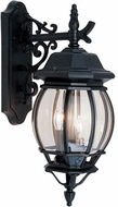 Livex 7707-04 Frontenac Traditional Black Wall Light Sconce