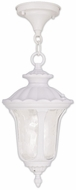 Livex 7849-03 Oxford Traditional White Drop Lighting