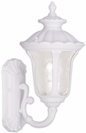 Livex 7850-03 Oxford Traditional White Wall Lighting Fixture