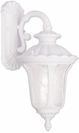 Livex 7851-03 Oxford Traditional White Wall Sconce
