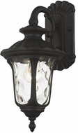 Livex 7851-14 Oxford Textured Black Outdoor 16  Wall Sconce Lighting