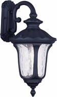 Livex 7853-04 Oxford Traditional Black Lamp Sconce