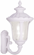 Livex 7856-03 Oxford Traditional White Wall Light Fixture