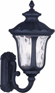 Livex 7856-04 Oxford Traditional Black Lighting Wall Sconce