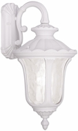 Livex 7857-03 Oxford Traditional White Wall Sconce Lighting