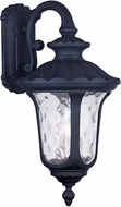 Livex 7857-04 Oxford Traditional Black Wall Mounted Lamp