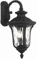 Livex 7857-14 Oxford Textured Black Exterior 23  Wall Sconce