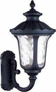 Livex 7862-04 Oxford Traditional Black Wall Light Sconce