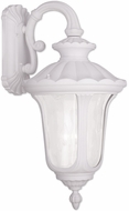 Livex 7863-03 Oxford Traditional White Wall Sconce Light