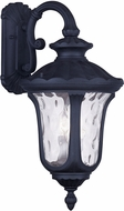 Livex 7863-04 Oxford Traditional Black Wall Sconce