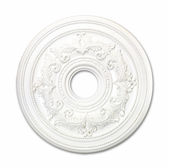 Livex 8200-03 Traditional White 22.5  Medallion