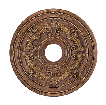 Livex 8200-30 Traditional Crackled Greek Bronze 22.5  Ceiling Medallion