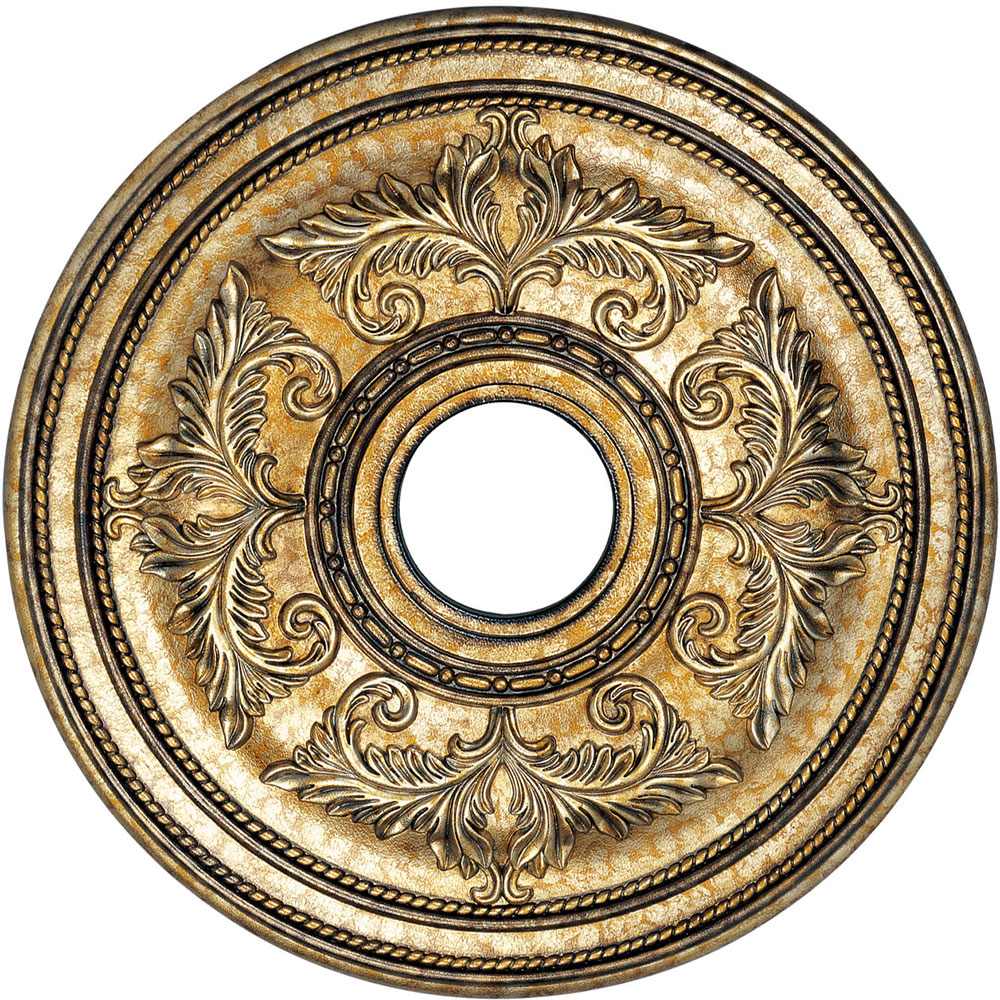 Livex 8200 65 Traditional Hand Painted Vintage Gold Leaf 22 5 Nbsp Ceiling Medallion Loading Zoom