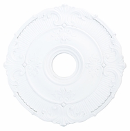 Livex 82031-03 Buckingham White 22  Ceiling Medallion