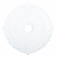 Livex 82034-03 Buckingham White 30  Medallion