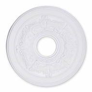 Livex 8205-03 Traditional White 18  Medallion
