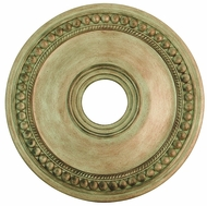 Livex 82074-73 Wingate Hand Painted Antique Silver Leaf 20  Ceiling Medallion