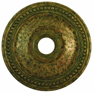 Livex 82075-71 Wingate Hand Applied Venetian Golden Bronze 24  Ceiling Medallion