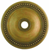 Livex 82076-48 Wingate Hand Painted Antique Gold Leaf 30  Medallion