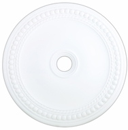 Livex 82077-03 Wingate White 36  Medallion