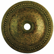 Livex 82077-71 Wingate Hand Applied Venetian Golden Bronze 36  Ceiling Medallion