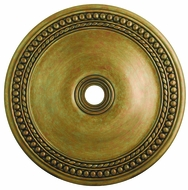 Livex 82078-48 Wingate Hand Painted Antique Gold Leaf 42  Medallion