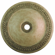 Livex 82078-73 Wingate Hand Painted Antique Silver Leaf 42  Ceiling Medallion
