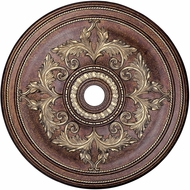 Livex 8211-64 Palacial Bronze with Gilded Accents 40.5  Medallion
