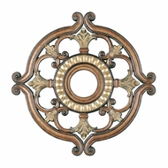 Livex 8216-57 Traditional Venetian Patina 23.5  Ceiling Medallion